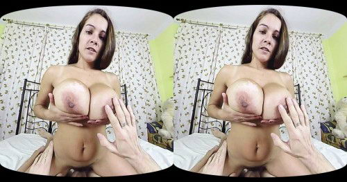 Fuck Brunette With Massive Tits VR Porn Movie