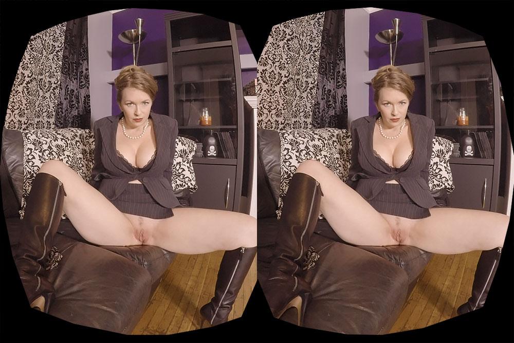 Be Mistress T's Sex Slave VR Porn Movie
