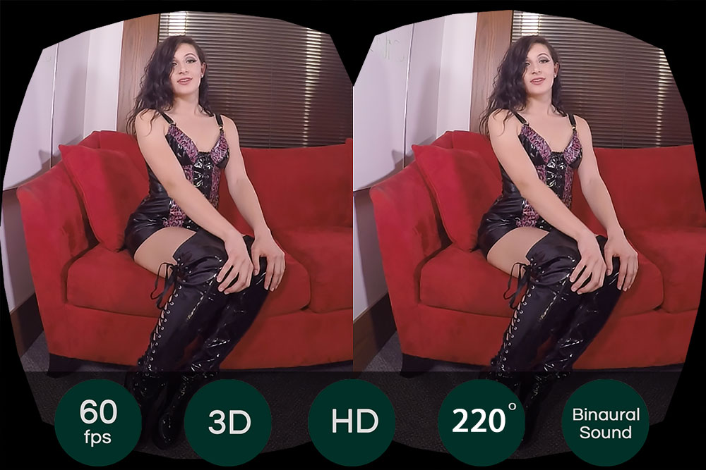 Sex Slave Fetish Solo Show VR Porn Movie
