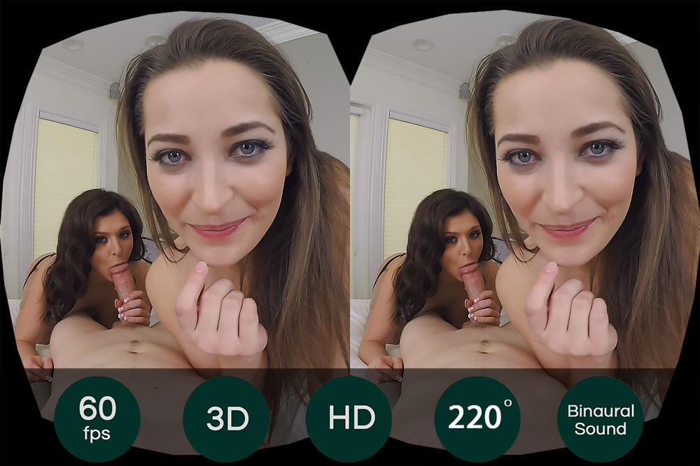 Threesome With 2 Natural Beauties VR Porn Movie
