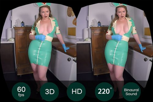 Hot Doctor Helps You To Get A Hard Dick VR Porn Movie