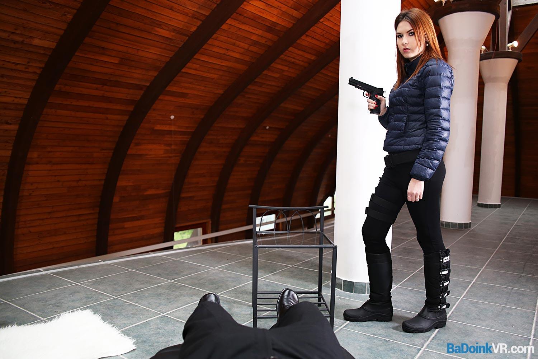 Fuck Pretty Russian Special Agent VR Porn Movie