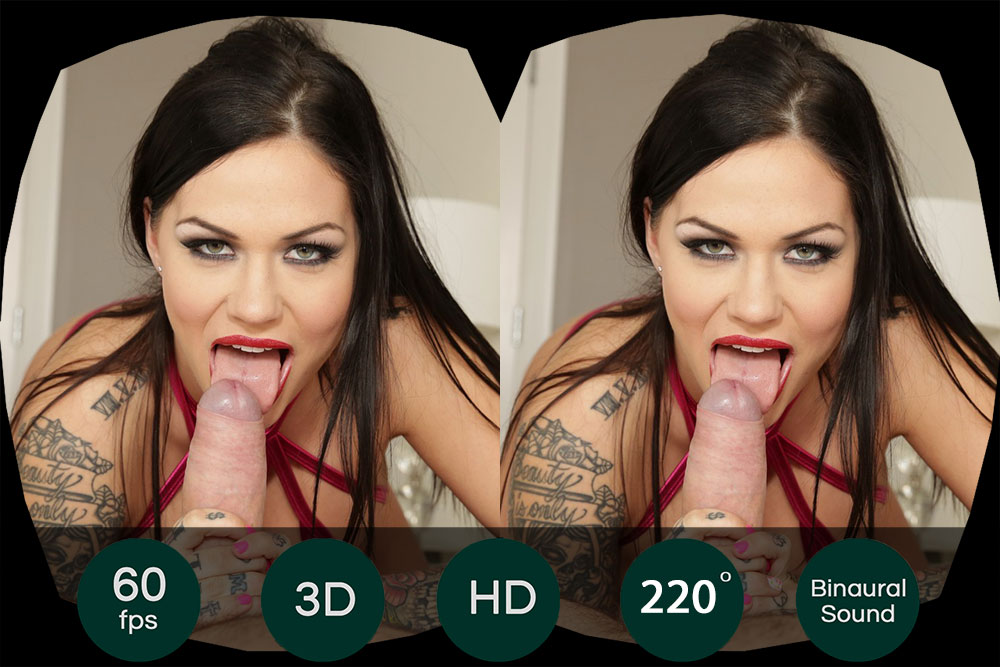 Anal Fuck With Brunette Tattoo Slut VR Porn Movie