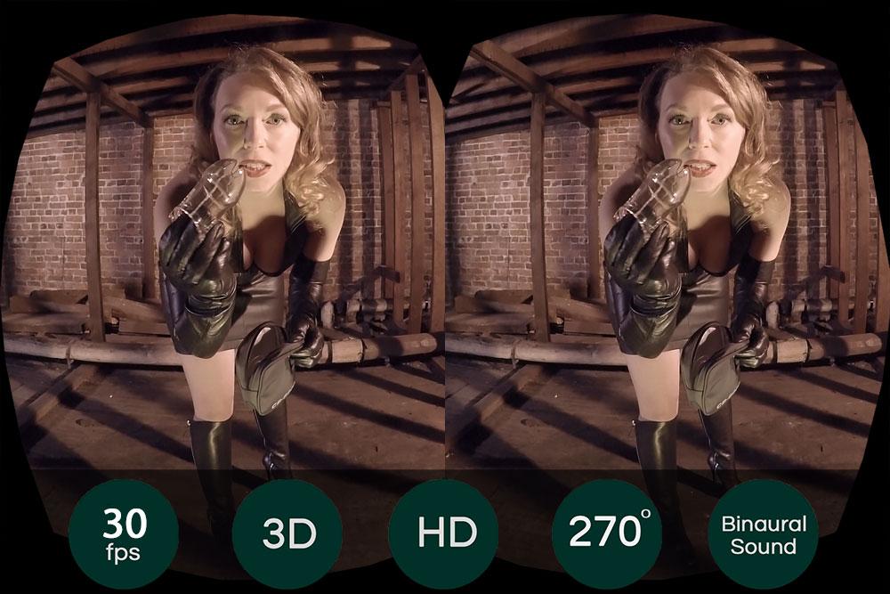 Mistress Teaches You Respect VR Porn Movie