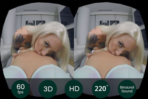 Be A Lesbian Getting Your Pussy Licked VR Porn Movie