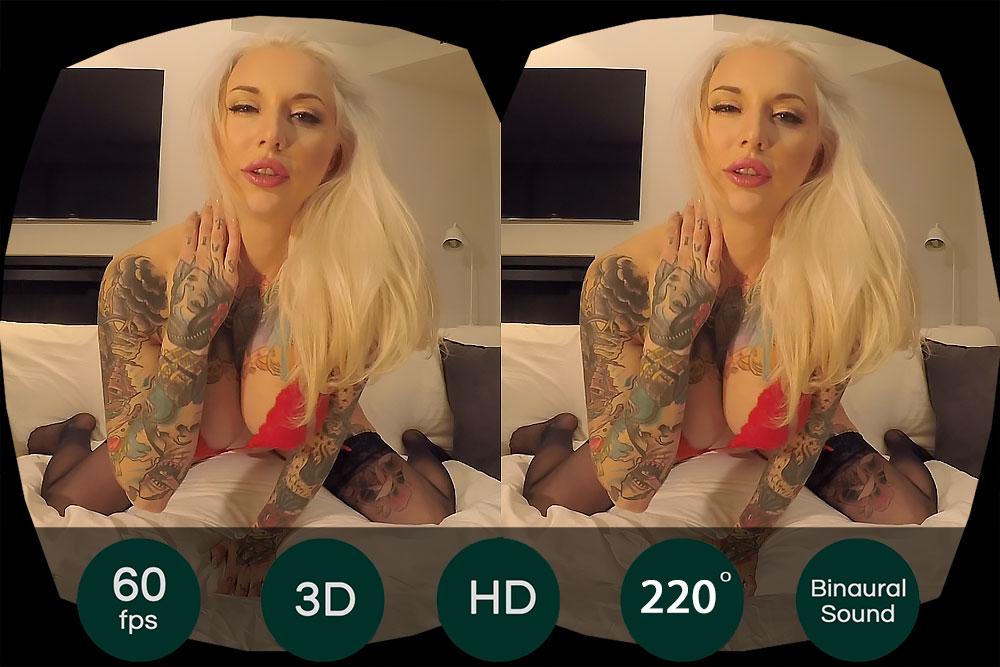 Rachel Rampage Masturbation Show VR Porn Movie