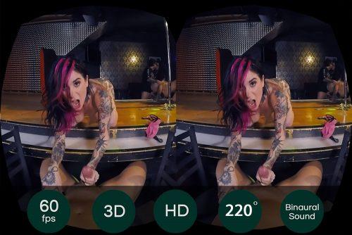 Naughty Threesome in Dark StripClub VR Porn Movie