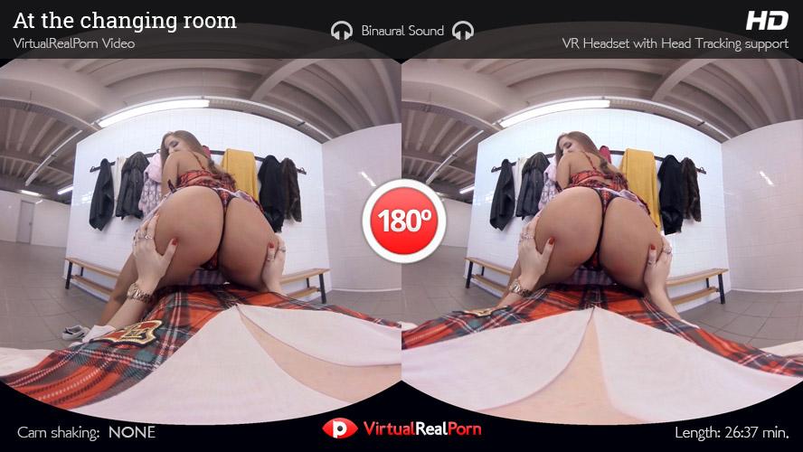 Lesbian Schoolgirls VR Porn Movie