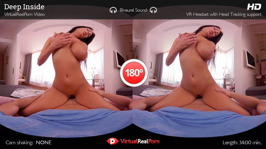 Fuck with Real Big Tits Brunette VR Porn Movie