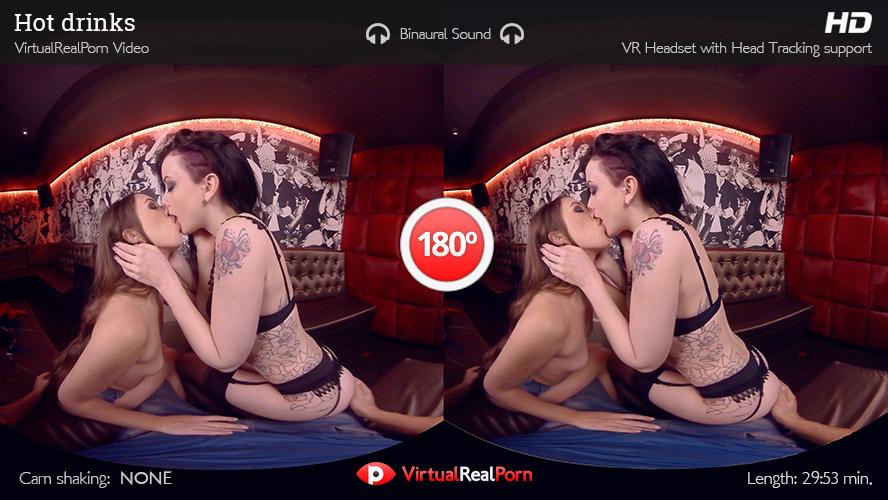 Threesome With Alessa Savage & Tiffany Doll VR Porn Movie