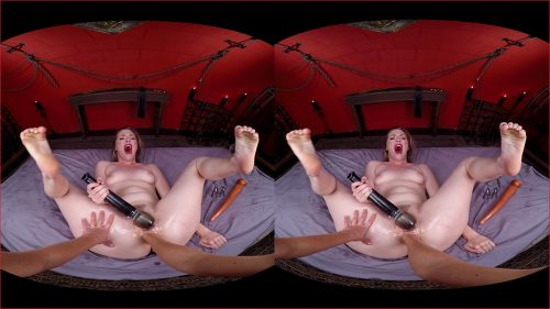 Explore Ella's Asshole VR Porn Movie