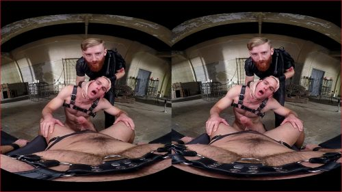 Gay Group Domination Fuck VR Porn Movie