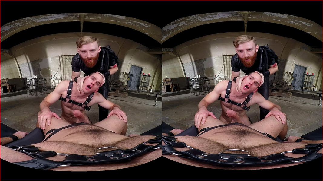 Gay Group Domination Fuck VR Porn Movie