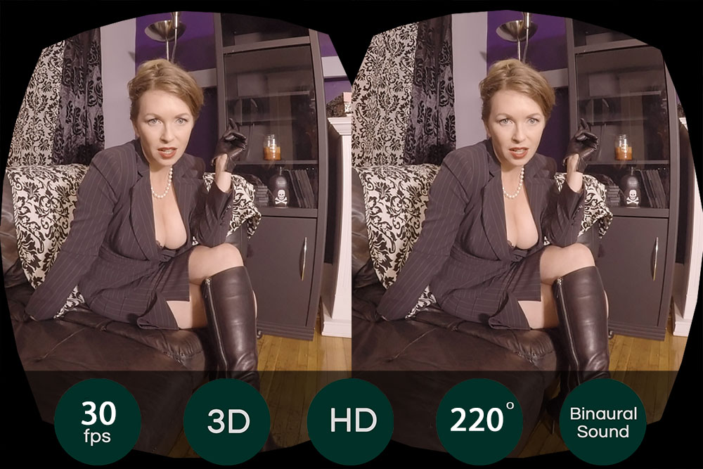 Be Mistress T's Sex Slave VR Porn Movie