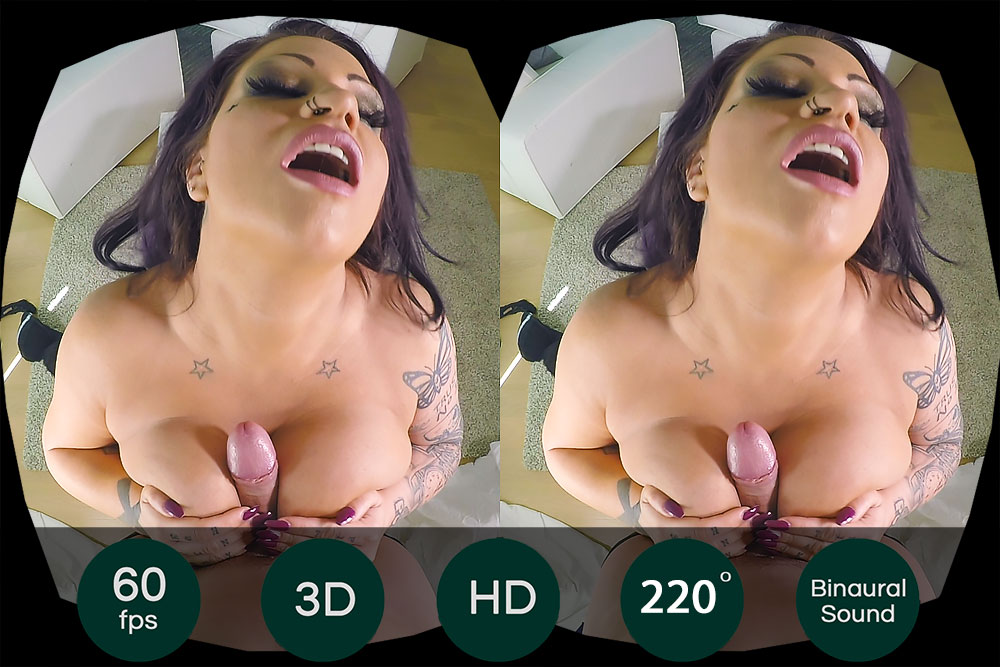 Bang Big Chick With Tit Fuck VR Porn Movie