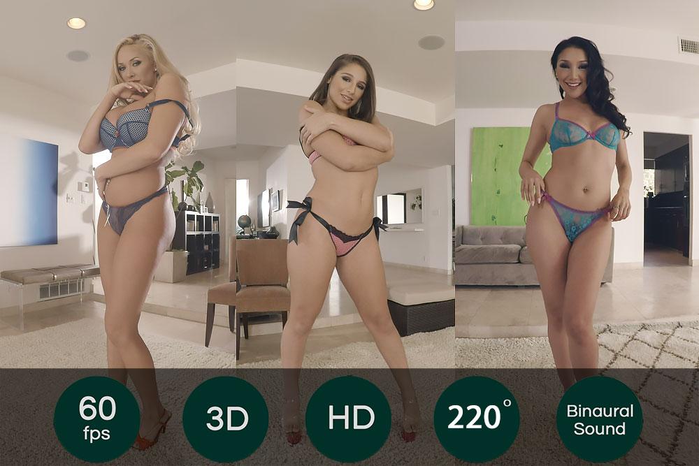 3 Pornstars To Choose For You VR Porn Movie