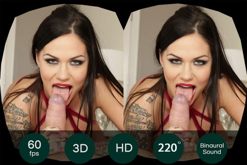 Anal Fuck With Brunette Tattoo Slut VR Porn Movie