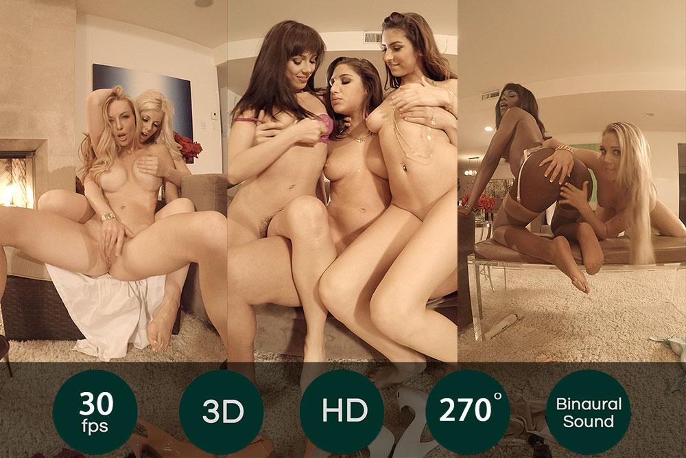 7 Porn Queens For You VR Porn Movie