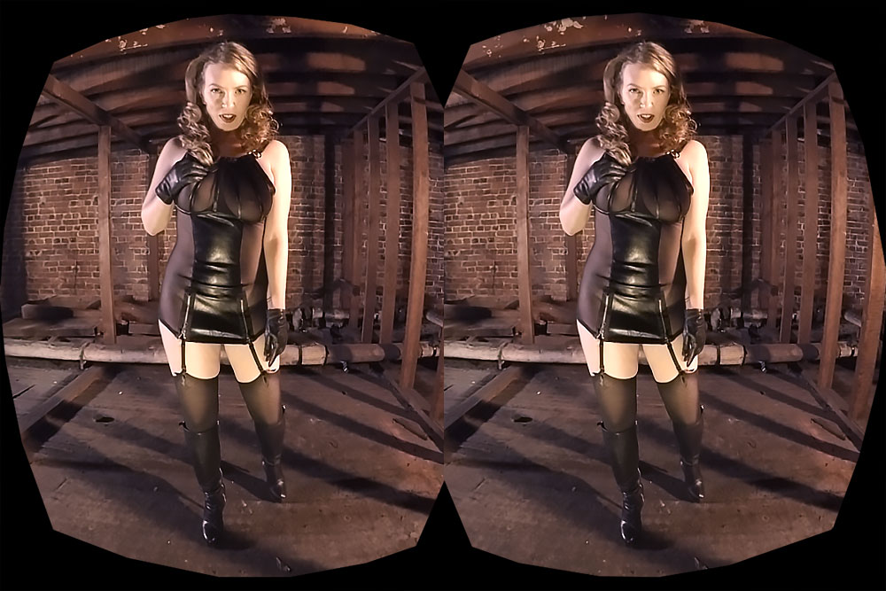 Redhead Dominatrix Is Your Mistress VR Porn Movie
