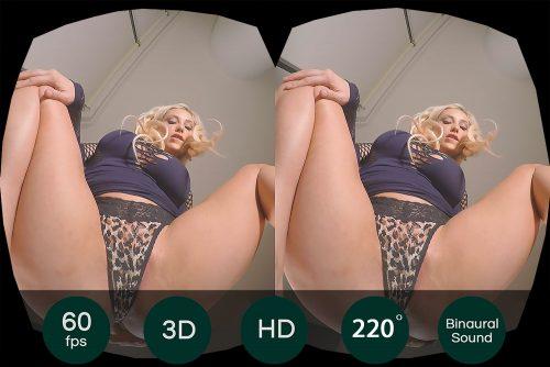 Sasha Leigh's Pussy Swallows Toys VR Porn Movie