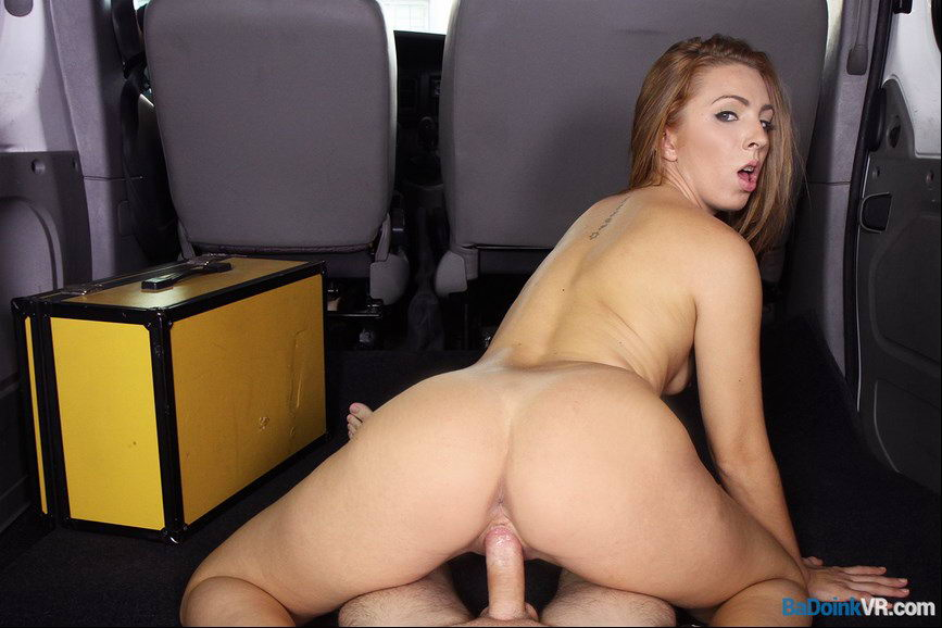 Fuck Spanish Girl in Car VR Porn Movie