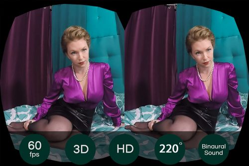 MILF Teaches You Real Sex VR Porn Movie