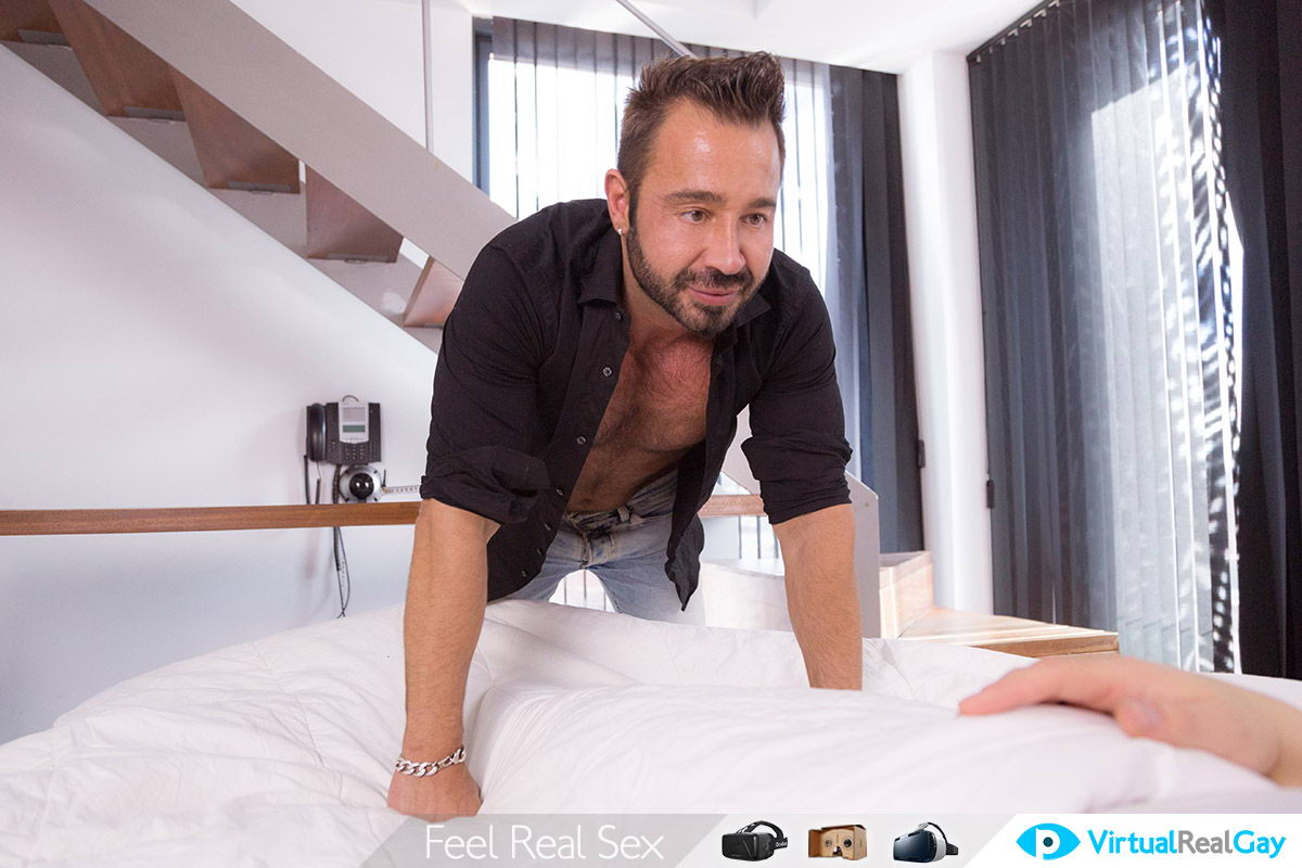 Gay Fuck With Hot Hunk VR Porn Movie