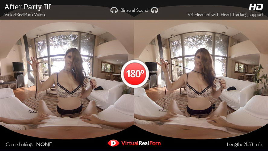 Fuck Horny Curvey Brunette With Hot Lingerie After Party VR Porn Movie
