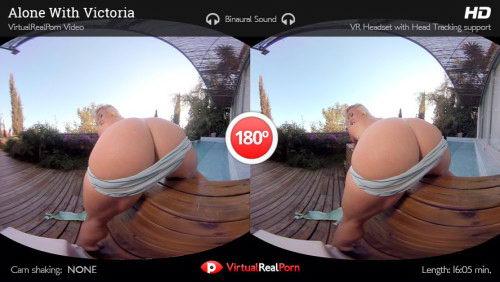 Naked Blonde Wet Show VR Porn Movie