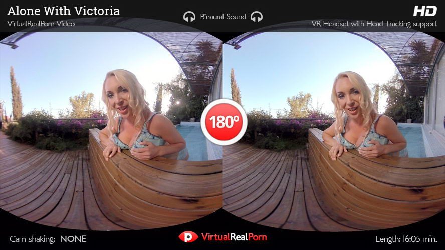 Naked Blonde Wet Show VR Porn Movie