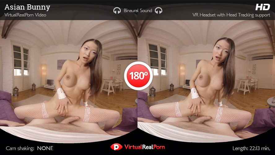 Pretty Asian Bunny Fuck VR Porn Movie
