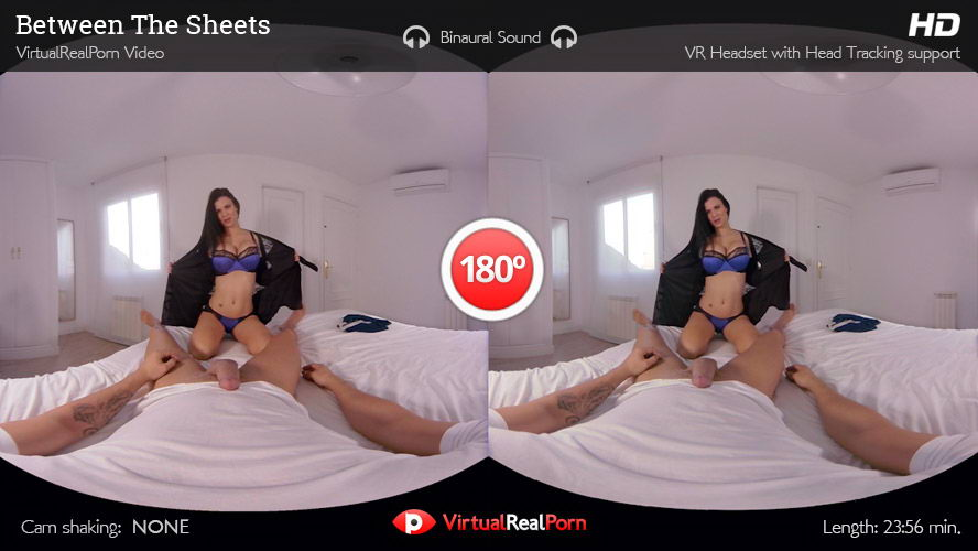 Fuck Pretty Brunette with Big Tits VR Porn Movie