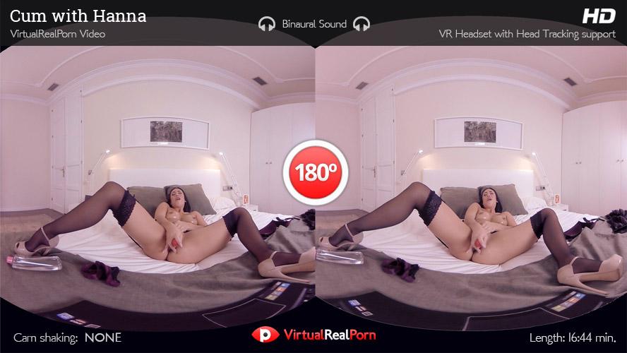 Masturbation Of Hanna Shaw VR Porn Movie