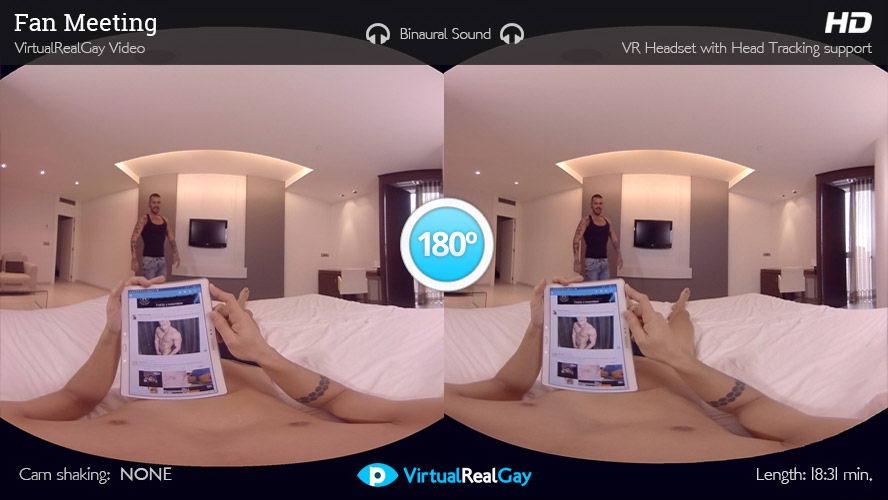 Gay Anal Couple Bang VR Porn Movie
