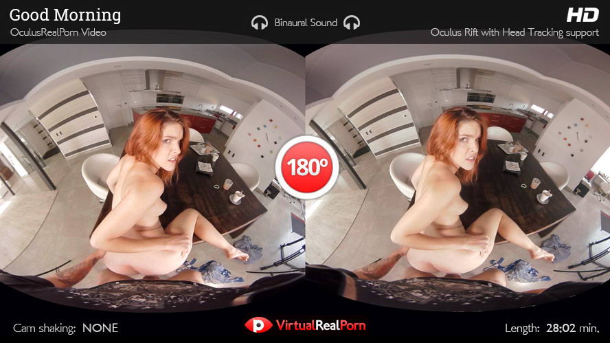One Night Stand with Redhead Girl VR Porn Movie