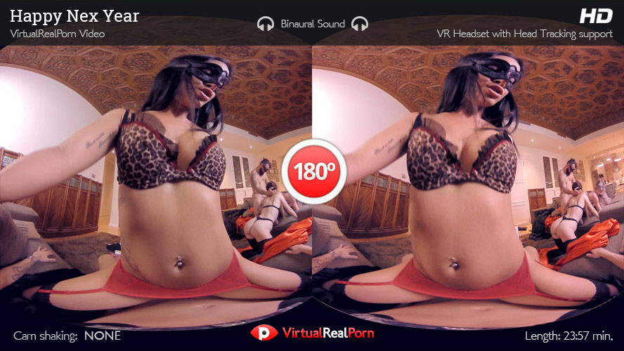 Lecherous Gangbang With Hotties Behind Masks VR Porn Movie