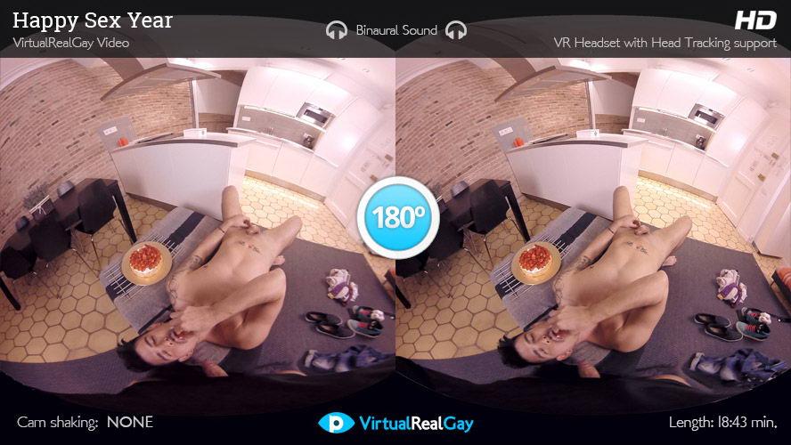 Gay Couple Fuck VR Porn Movie