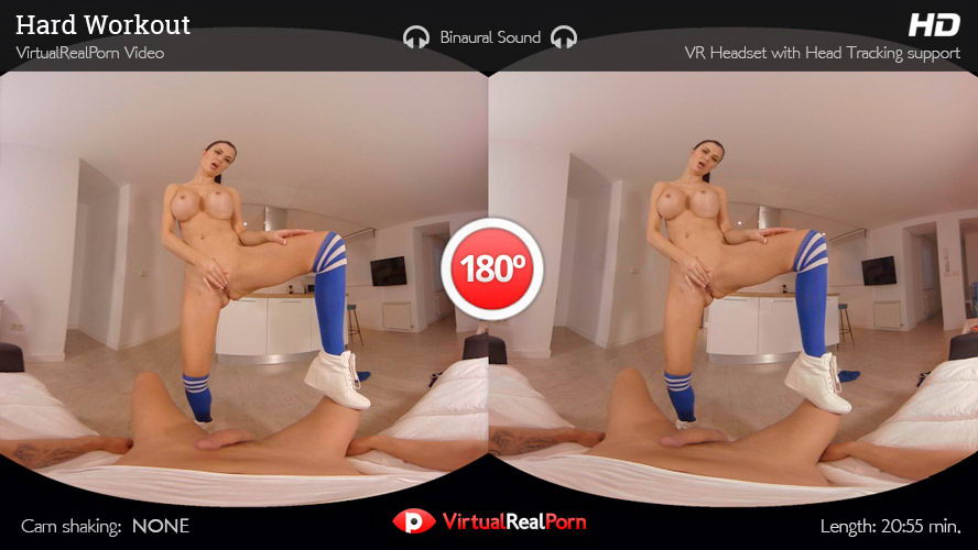Fuck Sporty Girl with Big Tits VR Porn Movie