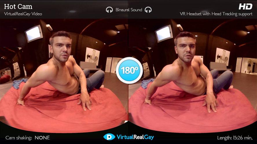 Watch Hot Cam Boy With Big Cock VR Porn Movie