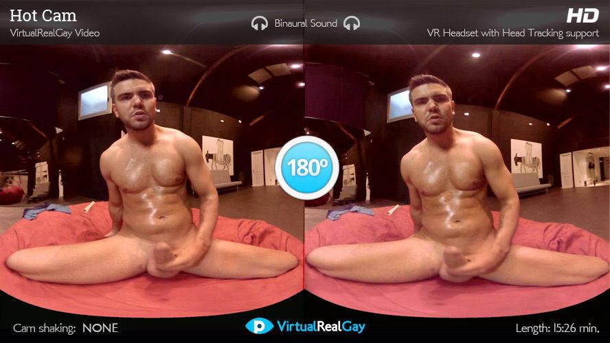Hot Gay Man Live Cam VR Porn Movie