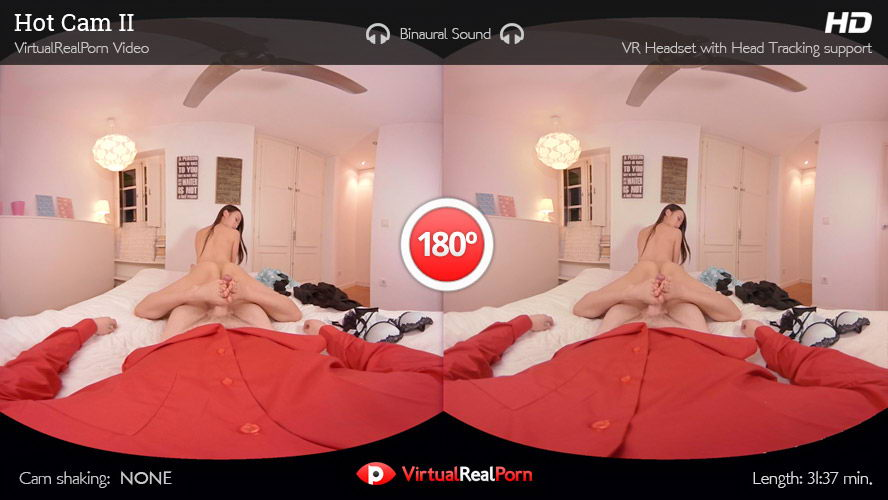 Fuck with Black Hair Asian Girl VR Porn Movie