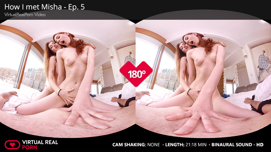 2 Horny Teen Girls At Once VR Porn Movie