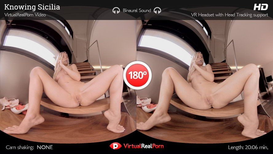 Blonde Live Sex Show VR Porn Movie