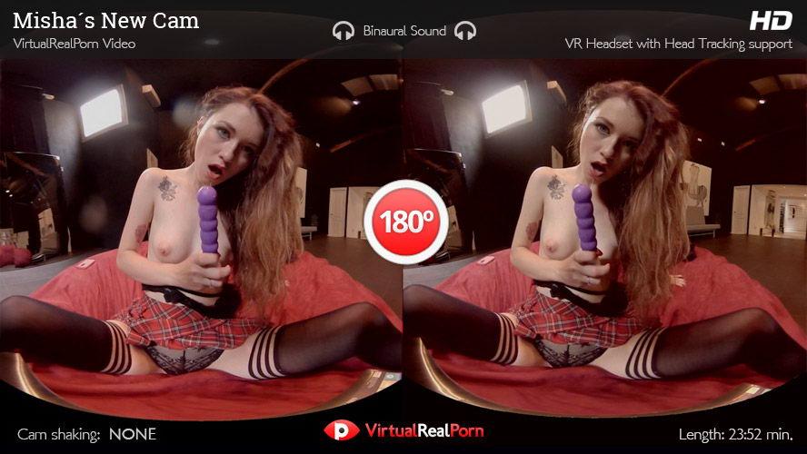 Brunette Live Cam Show VR Porn Movie